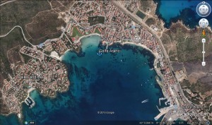 Golfo Aranci village beaches and provisioning