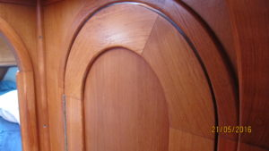 Joinery details top of doors plus trim and jambs